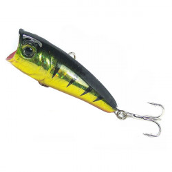 RHL-60-08 Lure Popper Fish Shape Bait Fishing Hook 6CM 7G