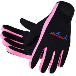 Sport im Freien Angeln Handschuhe Neopren Fishing Finger Schutz
