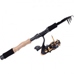 Telescopic Fishing Rod Carbon Spinning Fishing Pole Sea Fishing Tackle