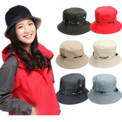 Unisex Sun Cotton Hat Summer Bucket Fishing Hiking Fedora Safari Cap