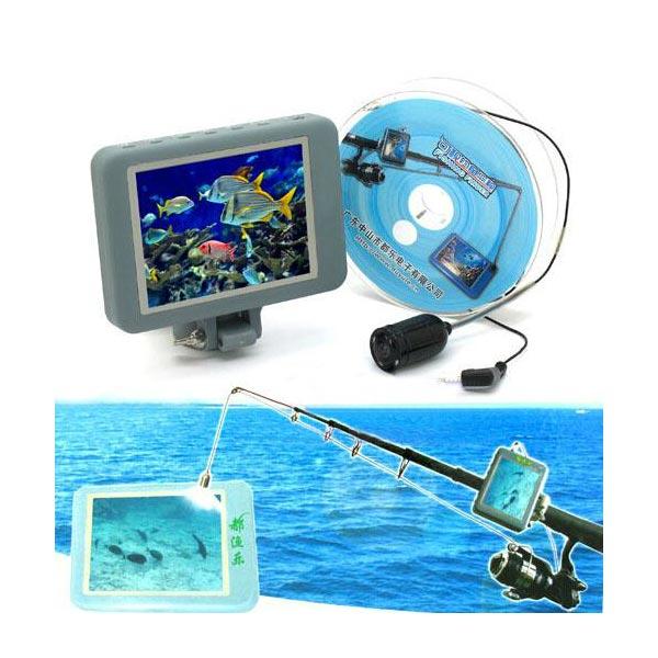 Visuelle Fischfinder Multicolor HD Angelgeräteunterwasserkamera Angeln