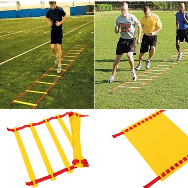10 Rung 5M Geschwindigkeit Koordinationsleiter für Fußball Fußball Speed Training