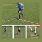 13-Rung 7M Speed Agility Ladder For Soccer Football Speed Training Fitness & Body Building