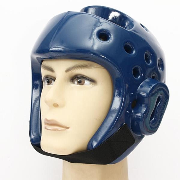1st Kickboxing Taekwondo Helmet Head Skydd S-XL Blue Fitness & Träningsutrustning