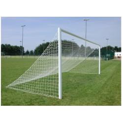 24ft x 8ft full size Senior straight back football goal post net