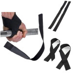 2 Pcs Padded Training Weight Lifting Hand Wrist Fitness & Body Building