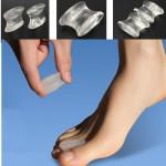 2Pcs Soft Silicone Gel Toe Separators Straightener Bunion Protector Fitness & Body Building