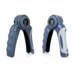 2-Pack Digital Justerbar Hand Handled Exerciser Tung Grepp Gripdon