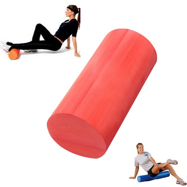 30/45 / 60x15cm EVA Yoga Fitness Foam Roller Home Gym Massage Glatte Fitness &  Sportgeräte