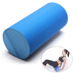 30x15cm EVA Yoga Pilates Fitness Massage Therapy Foam Roller Grid Gym