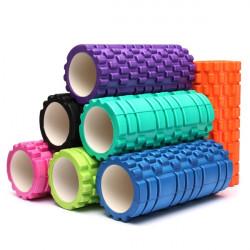 33x14cm EVA Yoga Gymnastik Pilates Foam Roller Massage Triggerpunkt