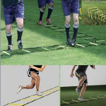 3M / 9M Speed ​​Agility Ladder for Football Speed ​​Agility Træning Fitness & Motionsudstyr