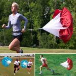 56inch Bohrer Speed Training Widerstand Lauf Parachute Chute Fitness &  Sportgeräte