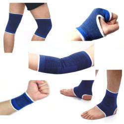 5stk / set Elastische Schutz Palm Arm Handgelenk Knie Knöchel Auflage Schutz