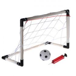 61x40cm Portabel Mini Fotbollsfodral Net Set Barn Gadget