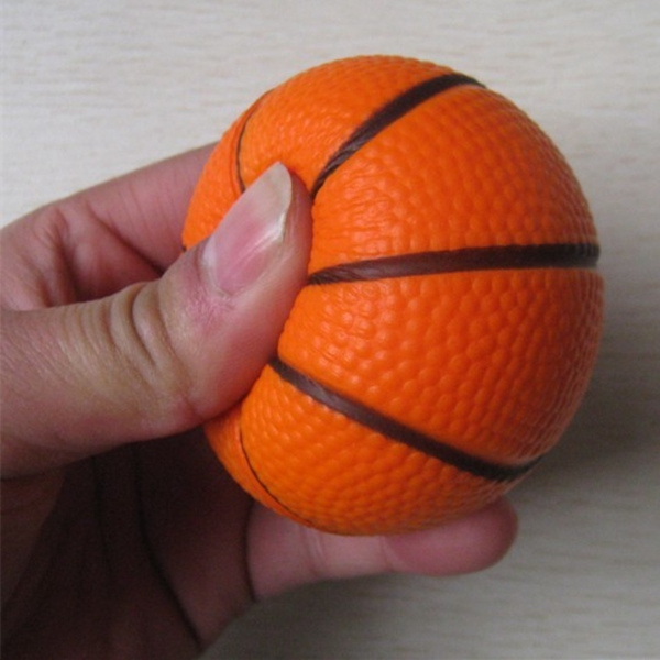 6.3cm Fitness Hand Wrist Exercise Stress Relief Squeeze Foam Ball Fitness & Body Building