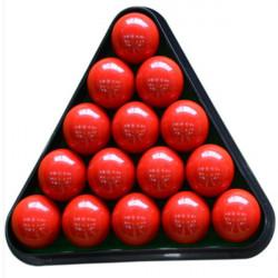 8 Ball Pool Billiard Bord Rack Triangle Rack Plast Billard Tripod Standard Størrelse