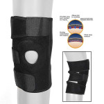 Adjustable Neoprene Gel Knee Support Protector Fitness & Body Building