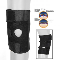 Adjustable Neoprene Gel Knee Support Protector