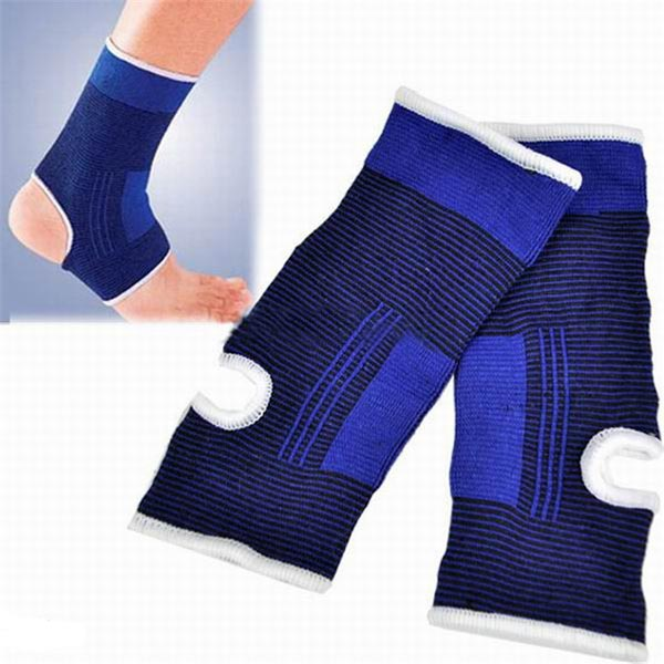 Ankle Pad Feet Protector Elastic Brace Guard Sport Sock Gym 1Pair Fitness & Body Building