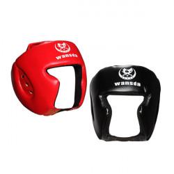 Boksning Hjelm Hovedbeskyttelse Træning Hovedbeklædning Face Protection Guard