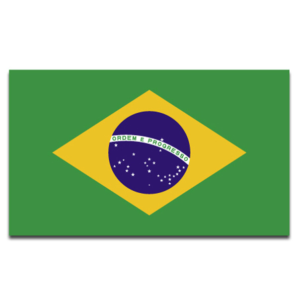 Brazil Brazilian Large National Flag 5 X 3FT World Mug Football Fitness & Motionsudstyr