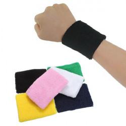 Bomull Armband Svettband för Basket Tennis Badminton