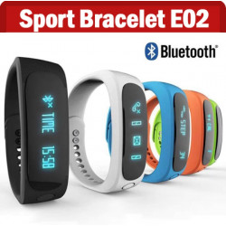 E02 Bluetooth SmartBand Smart Armband Fitness Sports Armband