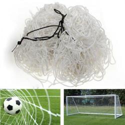 Football Net 6x4ft Soccer Goal Post Straight Flat Back Post Net