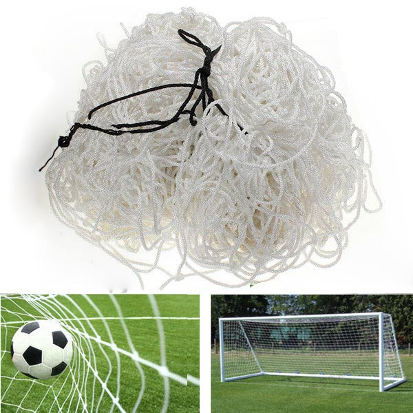 Fodbold Net 6x4ft Soccer Goal Post Straight Flat Ryg Indlæg Net Fitness & Motionsudstyr