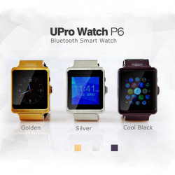 GPS Bluetooth Smartphone WristWatch Upro Watch for iPhone Android