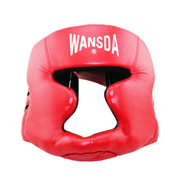 Echte geschlossen Sanda Muay Thai Boxing Schutzhelm Fitness &  Sportgeräte