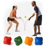 Hexagon Reaction Trainin Ball for Tennis Badminton Six Corner Fitness & Motionsudstyr