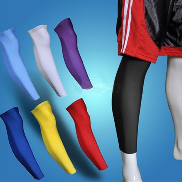 Knee Pad Calf Support Sport Basketball Leg Sleeve Fitness & Body Building