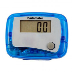LCD Digital Pedometer With Clip Walking Distance Counter
