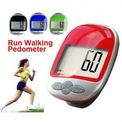 Stor Display Jogging Steg Stegräknare Walking Kalori Avstånd Counter