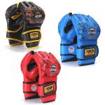 MMA Grappling Boxing Punch Läder Träningshandskar Fitness & Träningsutrustning