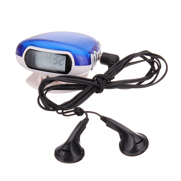 Multifunctional FM Radio Pedometer Walking Distance Calorie Counter Fitness & Body Building