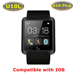 Original U10L U10S Sport Bluetooth Smart Armbandsur för IOS Android