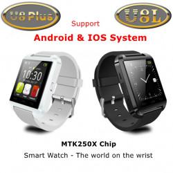 Original U8 PLUS Bluetooth Armbandsur U8L Smart Sport Telefon Klocka