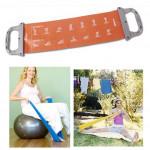 POVIT Yoga Blet Yoga Gurt Band Yoga Stretch Strap Fitness &  Sportgeräte