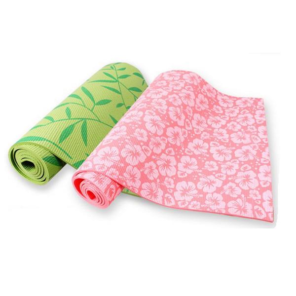 Povit Yoga Måtte 6mm Yoga Blanket Slip-resisTelt Yoga Mat Fitness & Motionsudstyr