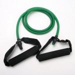 Resistance Band Stretch Fitness Rohr zur Workout & Yoga Fitness &  Sportgeräte