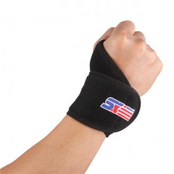 SHUOXIN Beam Bælte Bracer Sport Wrist Support Cuff Wrist Band