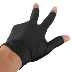 Snooker Left Hand Billard Handschuh Billard 3 Finger Handschuh