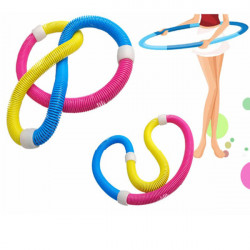 Soft Hula Hoop Stretchable Slimming Soft Spring Hula Hoop