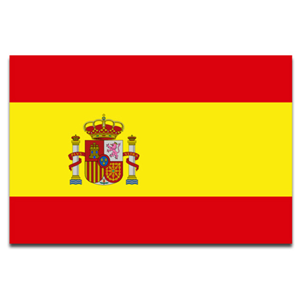 Spanien Spanisch Fahne Nationalflagge 5 X 3FT Fitness &  Sportgeräte