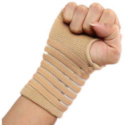 Sport Hand Support Wrist Sleeve Splint Brace Wrap
