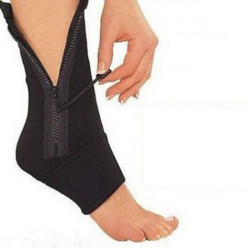 Sports Fitness Ankle Zip-up Support Ankle Protector