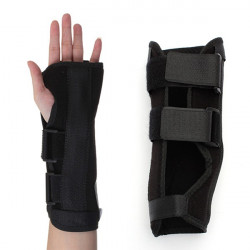 Sport Fitness Handledsskydd Stukning Underarms Splint Band